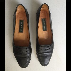 Cole Haan, Women's Black Leather Casual Loafers